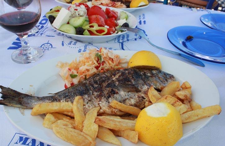 о. Эвбия, Греция