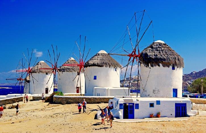 о. Миконос, Греция