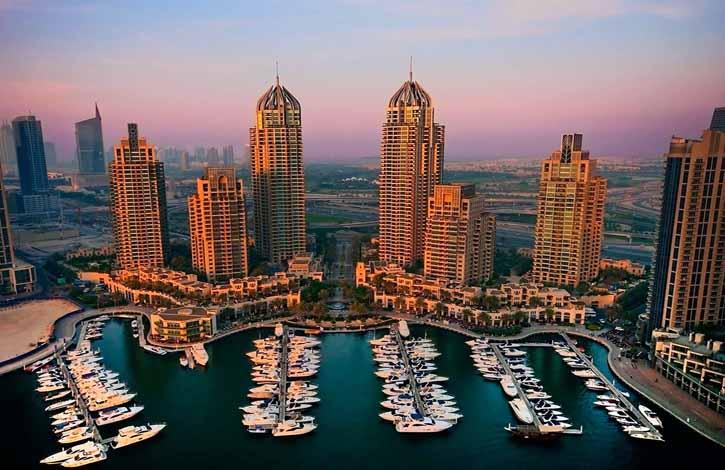 ОАЭ, Дубай Марина_2