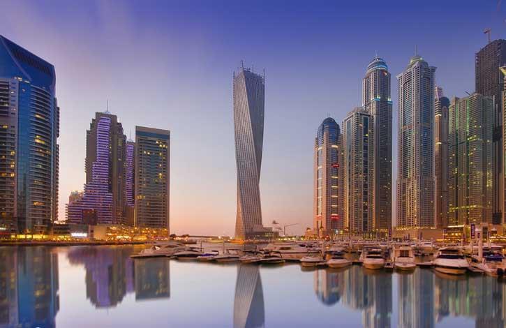 ОАЭ, Дубай Марина_3