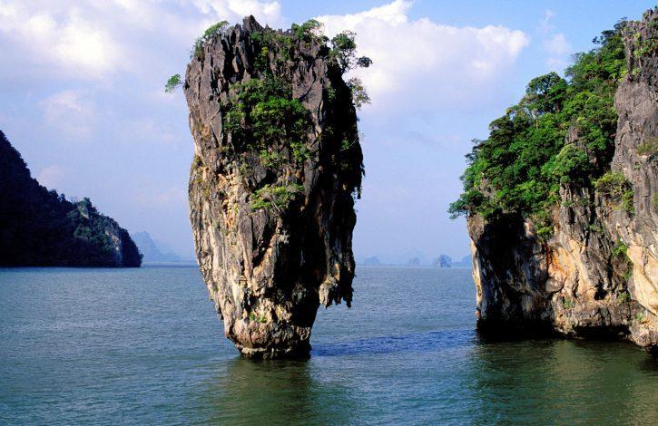 James Bond island, Phangna. Phuket province. Thailand