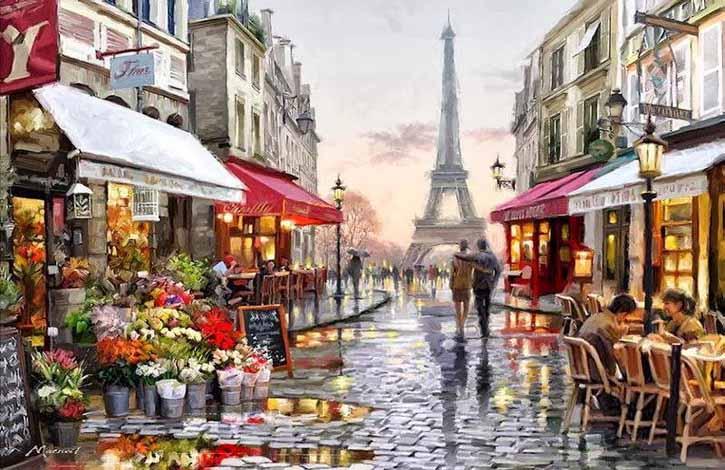 Горящие автобусные туры в Париж