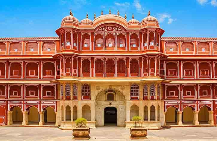 Jaipur India Chandra Mahal Palace within the City Palace