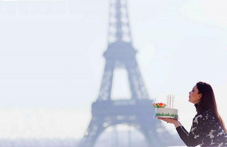 Мгновение в Париже