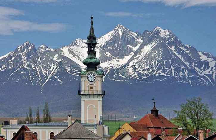 Словакия, Попрад