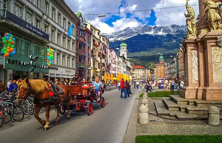 Австрия, Инсбрук 5