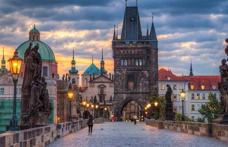 Два королевства Краков и Прага