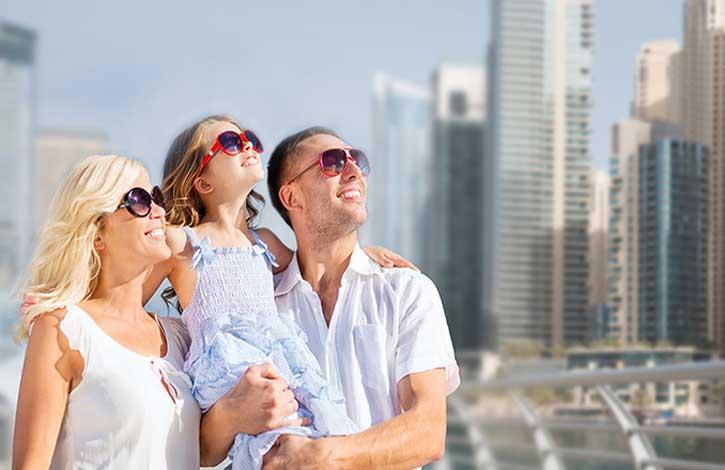 Головокружительная осень в Дубае