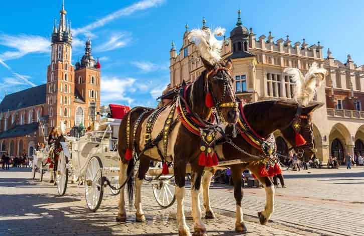 Польша, Краков 1