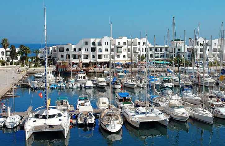 Тунис, Порт Эль-Кантави 3