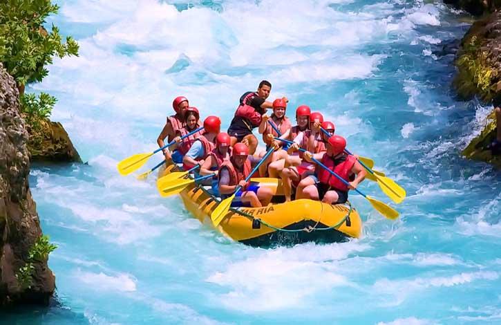Рафтинг - активный отдых в Карпатах