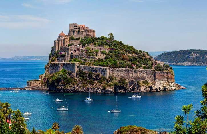 Италия, о. Искья