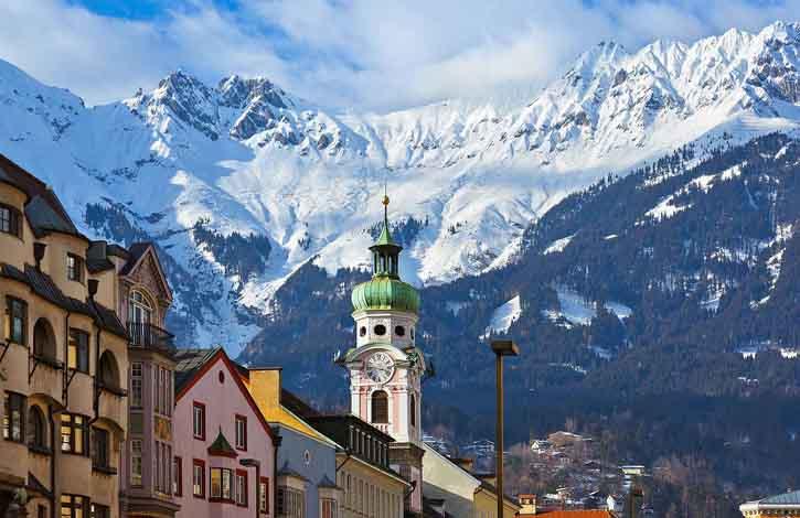 Австрия, Инсбрук 1