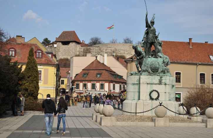 Эгер, Венгрия